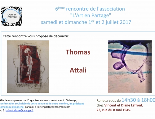 EXPO Attali et Thomas – Association « L'Art en Partage »